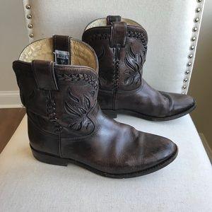 Frye Wyatt Overlay Boots